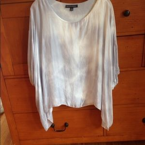 Saks Fifth Ave Silk Poncho